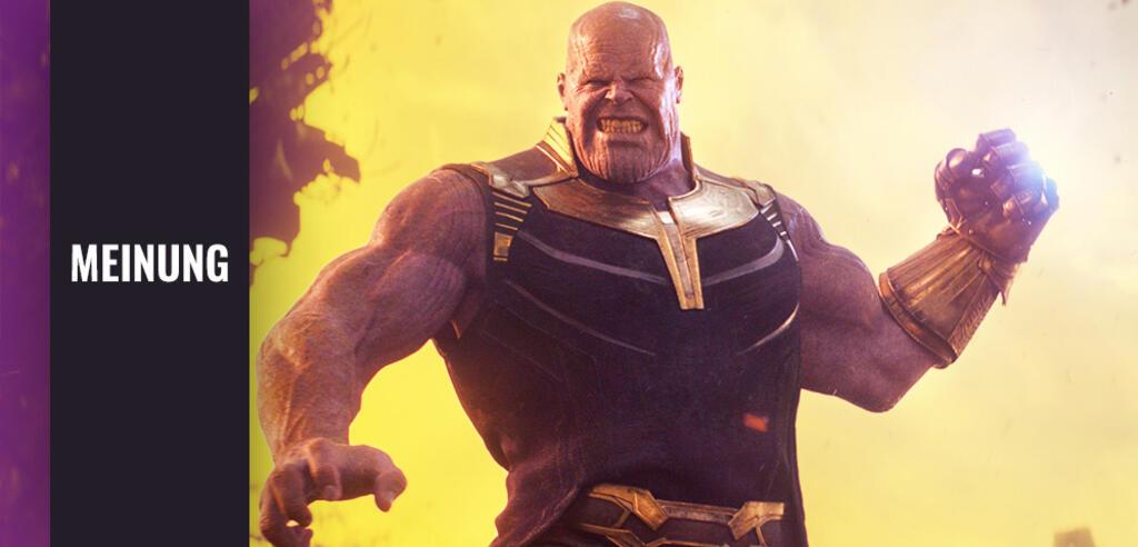 Thanos aus Avengers 3: Ininfity War