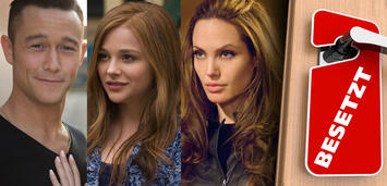Bild zu:  Joseph Gordon-Levitt in Don Jon / Chloë Grace Moretz in Wenn ich bleibe / Angelina Jolie in Wanted