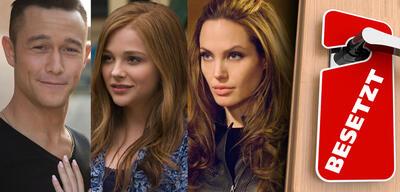 Joseph Gordon-Levitt in Don Jon / Chloë Grace Moretz in Wenn ich bleibe/Angelina Jolie in Wanted