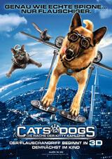 Cats & Dogs - Die Rache der Kitty Kahlohr - Poster