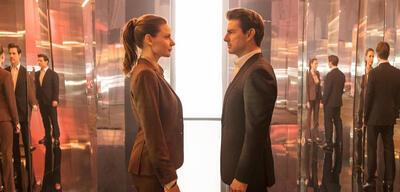 Mission: Impossible 6 - Fallout mit Tom Cruise und Rebecca Ferguson