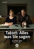 Tatort: Alles, was Sie sagen