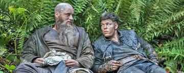 Ragnar und Ivar aus Vikings