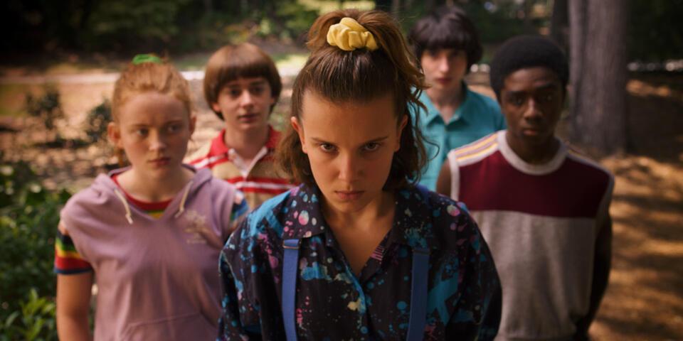 Stranger Things - Staffel 3 mit Millie Bobby Brown, Finn Wolfhard, Noah Schnapp, Caleb McLaughlin und Sadie Sink