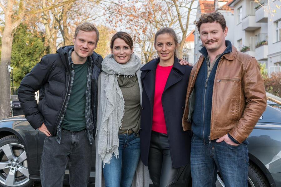 Das Quartett - Der lange Schatten des Todes mit Anja Kling, Anton Spieker, Annika Blendl und Shenja Lacher