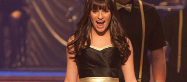 Lea Michele in Glee