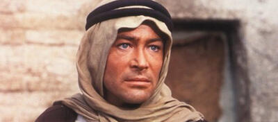 Peter O'Toole in Lawrence von Arabien