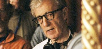 Bild zu:  Woody Allen bei den Dreharbeiten von Match Point
