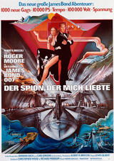 James Bond 007 - Der Spion, der mich liebte - Poster