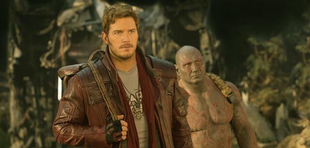 Guardians of the Galaxy Vol. 2 mit Chris Pratt