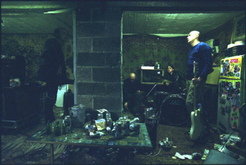 Ex Drummer mit Norman Baert