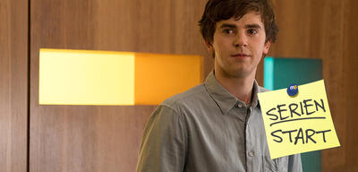 Freddie Highmore in The Good Doctor