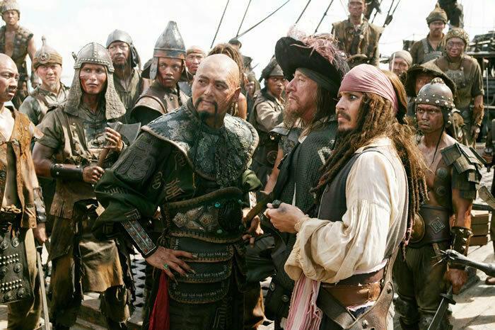 Fluch der Karibik mit Johnny Depp