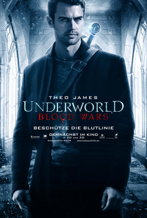 Underworld 5: Blood Wars mit Theo James