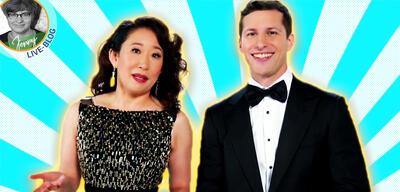 Golden Globes 2019: Sandra Oh und Andy Samberg