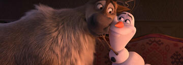 Olaf und Sven in Die Eiskönigin 2