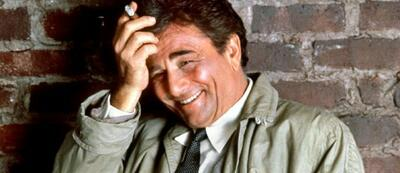 Peter Falk als Inspektor Columbo