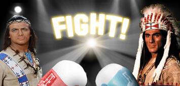 Bild zu:  Winnetou vs. Chingachgook