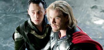 Bild zu:  Loki und Thor
