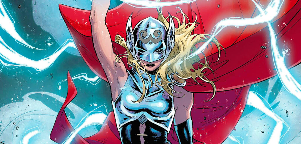 Jane als The Mighty Thor