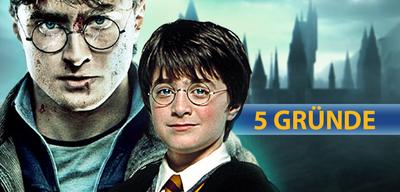 5 Gründe für Harry Potter