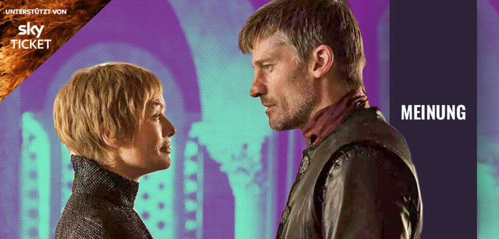 Cersei und Jaime Lannister in Game of Thrones