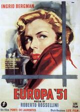 Europa '51 - Poster