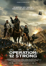 Operation: 12 Strong - Poster