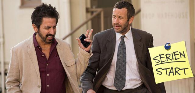 Get Shorty, Staffel 1: Ray Romano und Chris O'Dowd