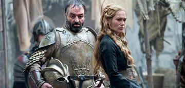Ian Beattie und Lena Headey in Game of Thrones