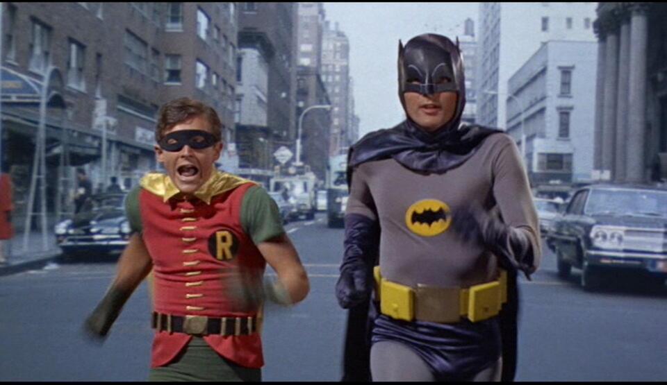 Batman hält die Welt in Atem mit Adam West und Burt Ward