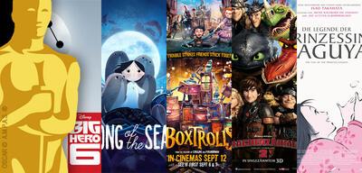 Die Kandidaten des diesjährigen Oscars für den besten Animationsfilm