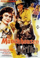 Münchhausen in Afrika - Poster