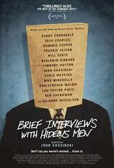 Brief Interviews with Hideous Men - Poster