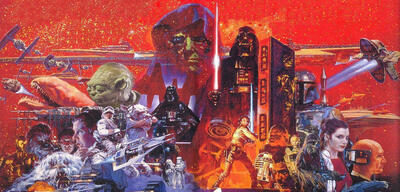 Star Wars-Poster vonNoriyoshi Ohrai