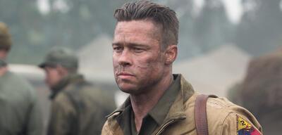 Brad Pitt in Herz aus Stahl