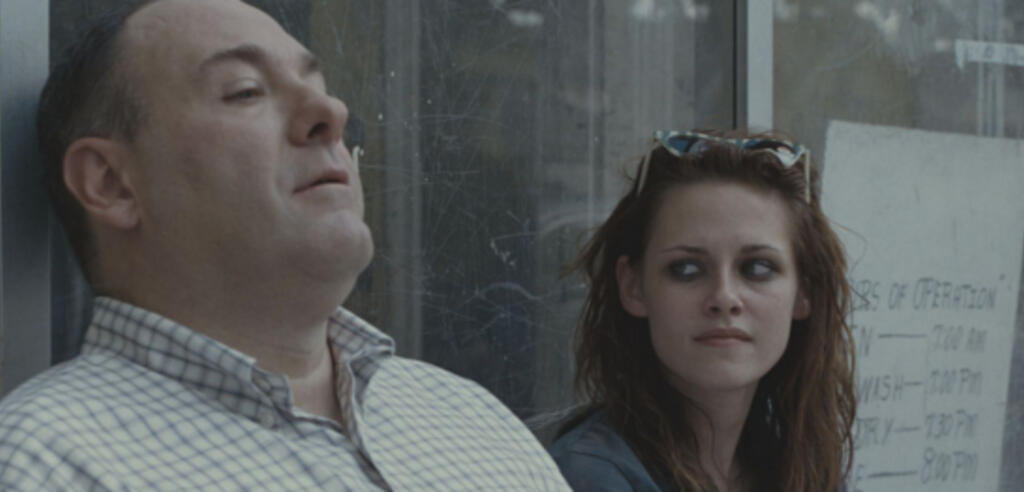 James Gandolfini mit Kristen Stewart.