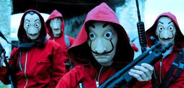Haus des Geldes: die Dalí-Masken