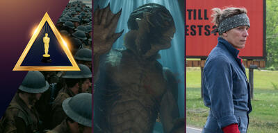 Dunkirk/Shape of Water/Three Billboards