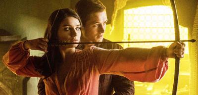 Robin Hood: Taron Egerton und Eve Hewson