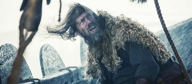 Stürmische Überfahrt in Northmen- A Viking Saga