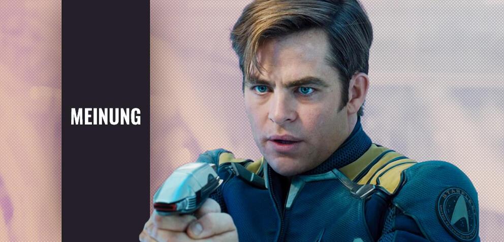 Chris Pine als Captain Kirk in Star Trek Beyond
