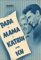 Papa, Mama, Katrin und ich
