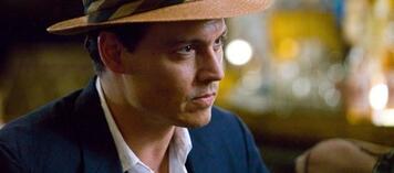 Johnny Depp als exzentrischer Schriftsteller Paul Kemp in Rum Diary