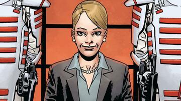 Commonwealth-Anführerin Pamela Milton im The Walking Dead-Comic