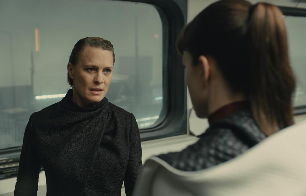 Blade Runner 2049 mit Robin Wright und Sylvia Hoeks