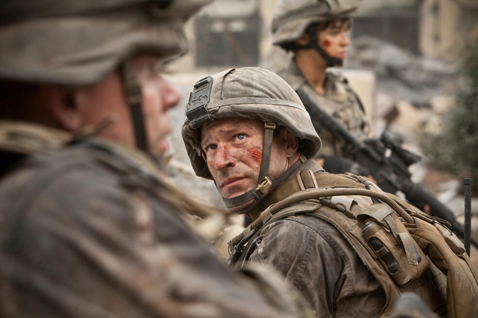 World Invasion: Battle Los Angeles mit Aaron Eckhart