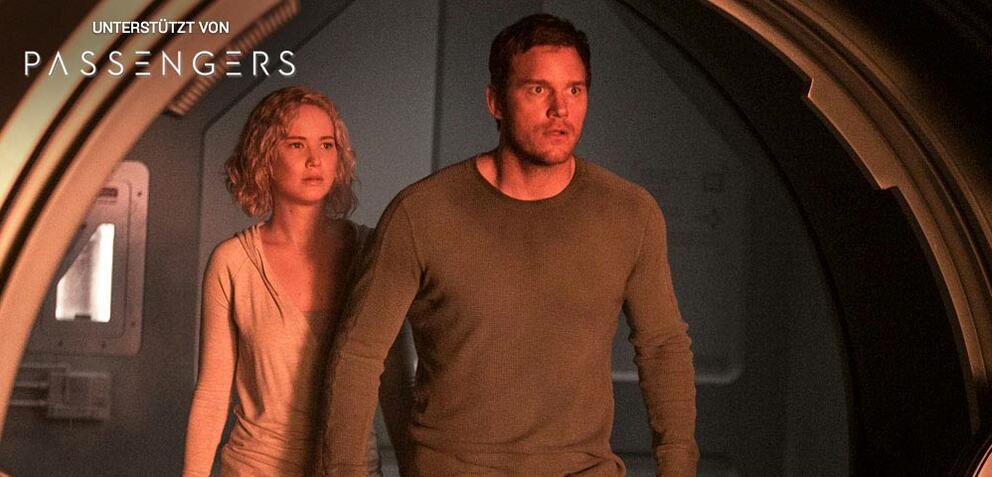 Passengers, mit Jennifer Lawrence & Chris Pratt