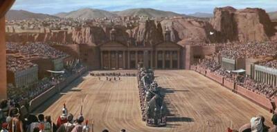 Gebaut für die Wirklichkeit: Die Arena in Ben Hur