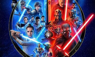 Star Wars 9: Der Aufstieg Skywalkers, Star Wars: Episode II - Angriff der Klonkrieger, Die Rückkehr der Jedi-Ritter, Star Wars: Episode I - Die dunkle Bedrohung, Star Wars 7: Das Erwachen der Macht, Krieg der Sterne - Bild 1